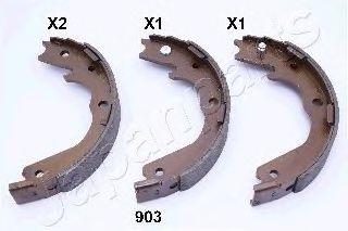 Тормозные колодки ручника JAPANPARTS GF-903AF