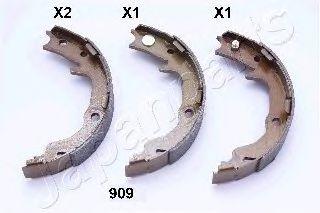 Тормозные колодки ручника JAPANPARTS GF-909AF