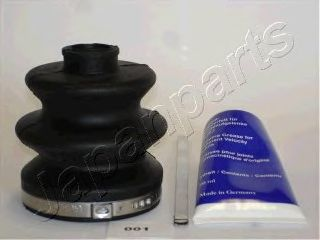 Комплект пыльника ШРУСа JAPANPARTS KB-001