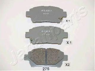Тормозные колодки JAPANPARTS PA-275AF