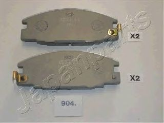 Тормозные колодки JAPANPARTS PA-904AF