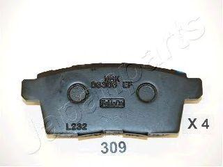 Тормозные колодки JAPANPARTS PP-309AF