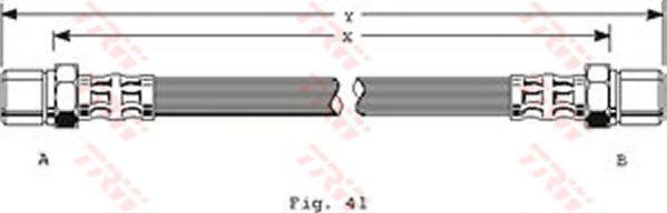 Тормозной шланг TRW PHA154