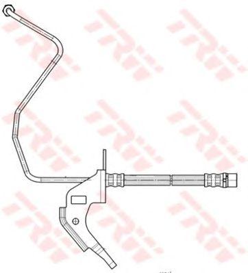 Тормозной шланг TRW PHD563