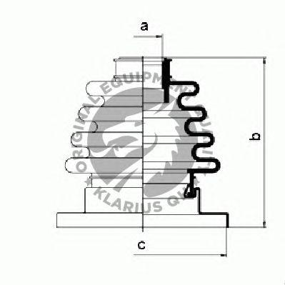 Комплект пыльника ШРУСа QH International QJB217