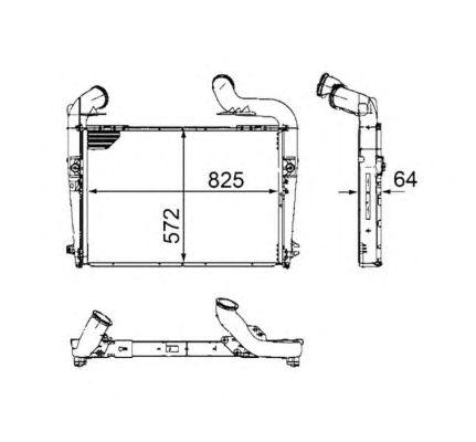 Интеркулер NRF 30224
