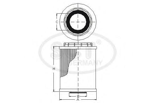 Масляный фильтр SCT Germany SH 454 P