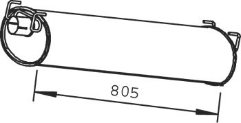 Резонатор DINEX 28408