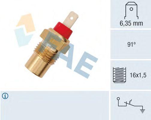Датчик температуры охлаждающей жидкости FAE 35101