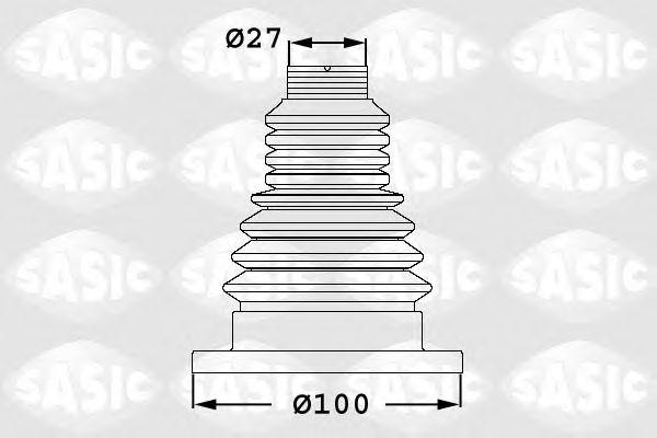 Комплект пыльника ШРУСа SASIC 1906033