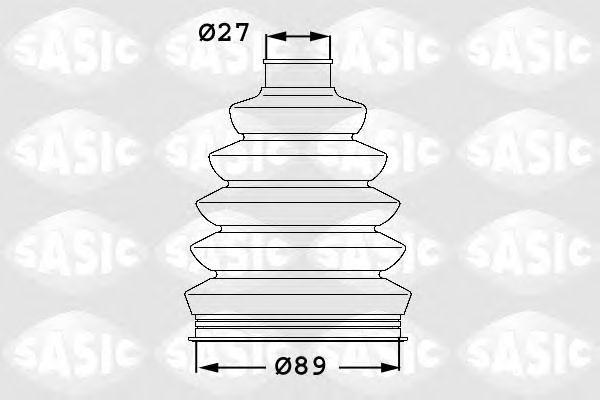 Комплект пыльника ШРУСа SASIC 1906052