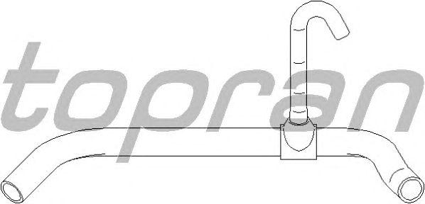 Шланг радиатора TOPRAN 111 799
