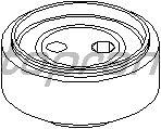 Натяжной ролик поликлинового ремня TOPRAN 109 157