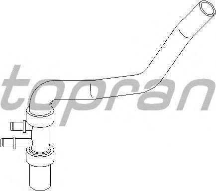 Шланг радиатора TOPRAN 207 792
