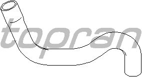 Шланг радиатора TOPRAN 721 830