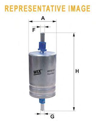 Топливный фильтр WIX FILTERS WF8412