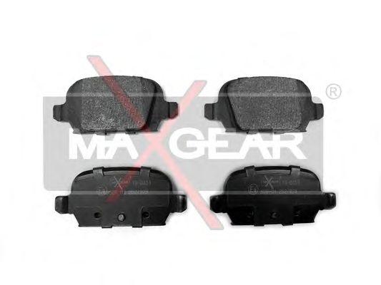 Тормозные колодки MAXGEAR 19-0451