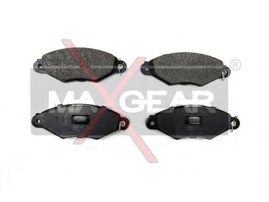 Тормозные колодки MAXGEAR 19-0555