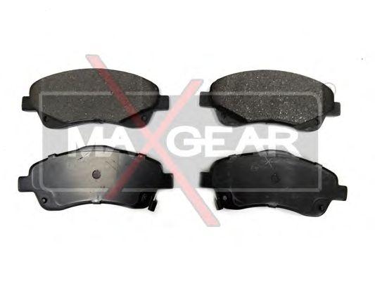 Тормозные колодки MAXGEAR 19-0625