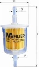 Топливный фильтр MFILTER BF 02