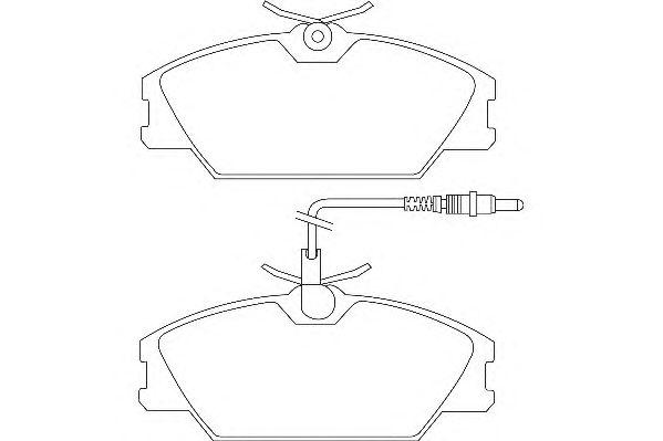 Тормозные колодки WAGNER WBP21388A