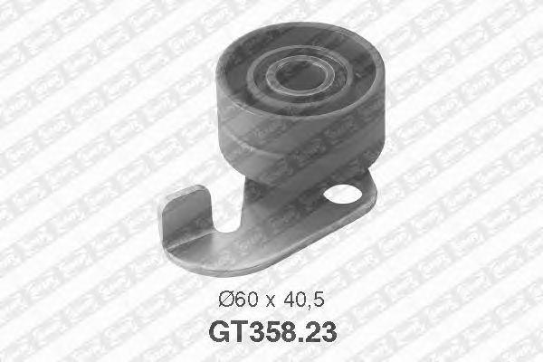 Натяжной ролик ремня ГРМ SNR GT358.23