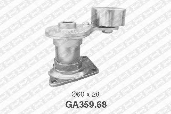 Натяжной ролик поликлинового ремня SNR GA359.68