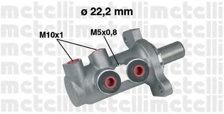 Главный тормозной цилиндр METELLI 05-0294