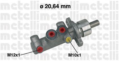 Главный тормозной цилиндр METELLI 05-0416
