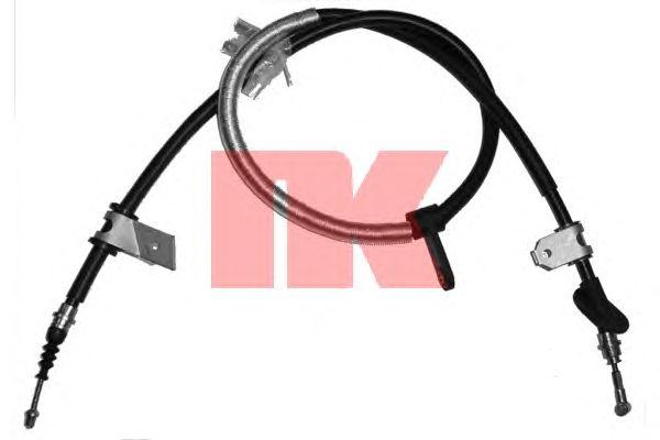 Трос ручника NK 901019