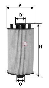 Масляный фильтр SOFIMA S 5051 PE