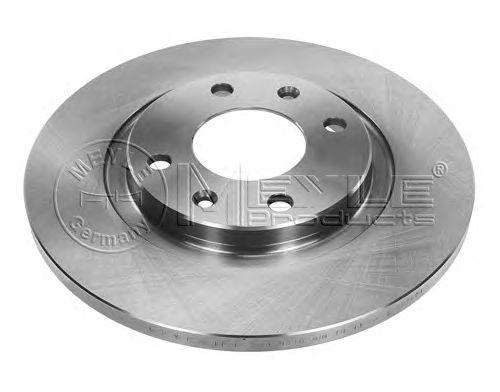 Тормозной диск MEYLE 11-15 521 0016