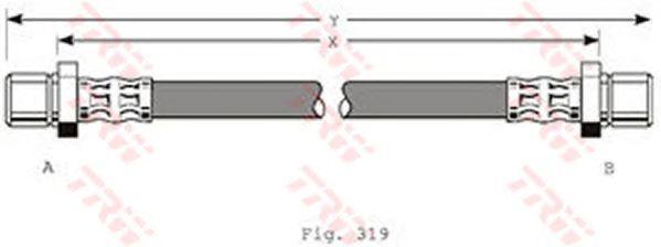 Тормозной шланг TRW PHA216