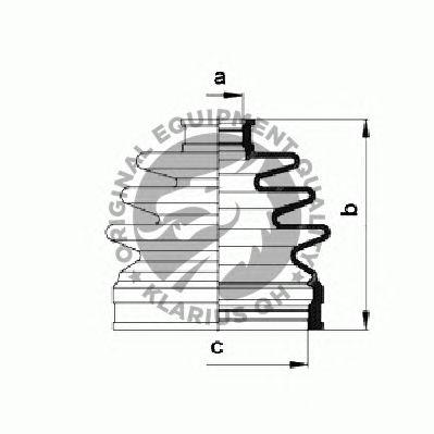 Комплект пыльника ШРУСа QH International QJB985