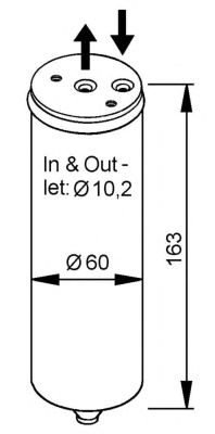 Осушитель кондиционера NRF 33023
