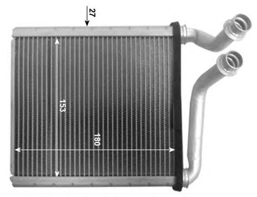 Радиатор отопителя NRF 54205