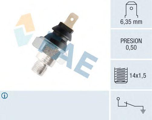 Датчик давления масла FAE 12250