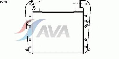 Интеркулер AVA QUALITY COOLING SC4011