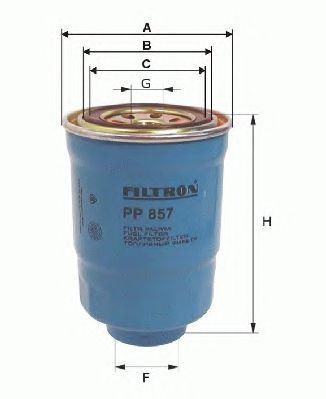 Топливный фильтр FILTRON PP856/1
