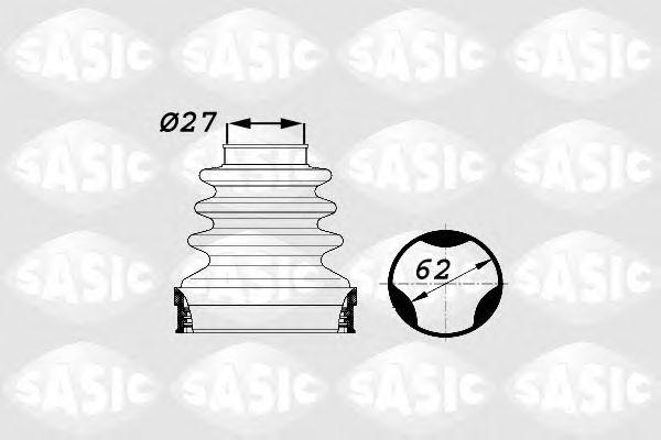Комплект пыльника ШРУСа SASIC 1900014