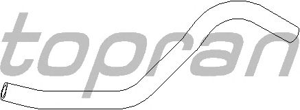 Шланг радиатора TOPRAN 102 870