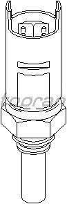 Датчик температуры охлаждающей  жидкости TOPRAN 500 522