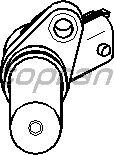 Датчик положения коленвала, распредвала TOPRAN 206 202