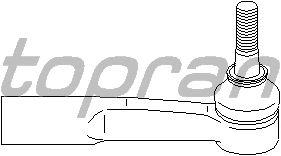 Наконечник рулевой тяги TOPRAN 206 891