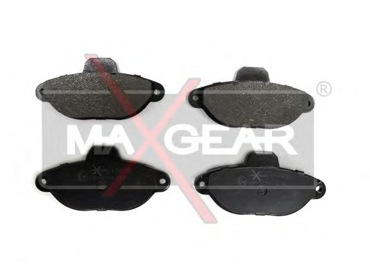 Тормозные колодки MAXGEAR 19-0493