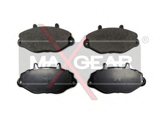 Тормозные колодки MAXGEAR 19-0589
