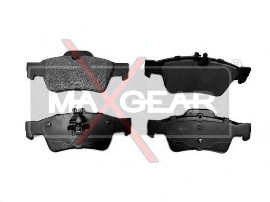 Тормозные колодки MAXGEAR 19-0593