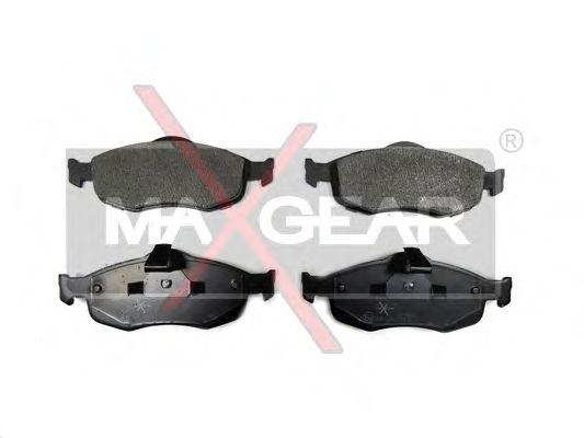 Тормозные колодки MAXGEAR 19-0643