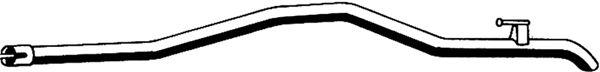 Труба выхлопного газа ASMET 02.022