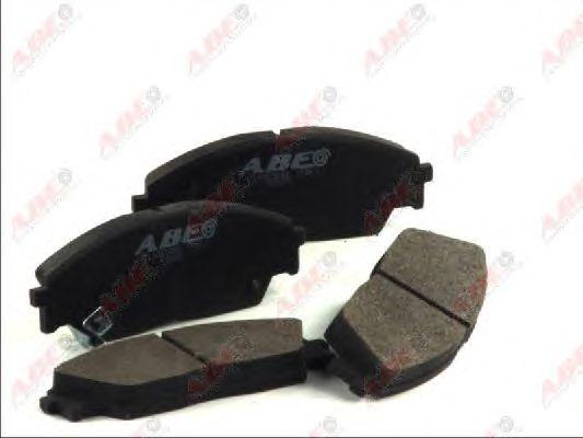 Тормозные колодки ABE C14023ABE